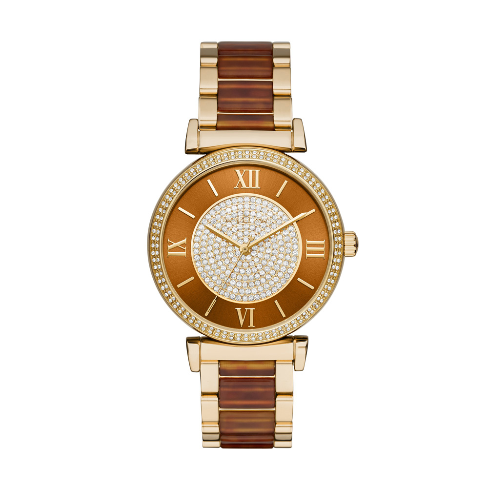 Michael Kors Gold Tone Catlin Watch | MK3411