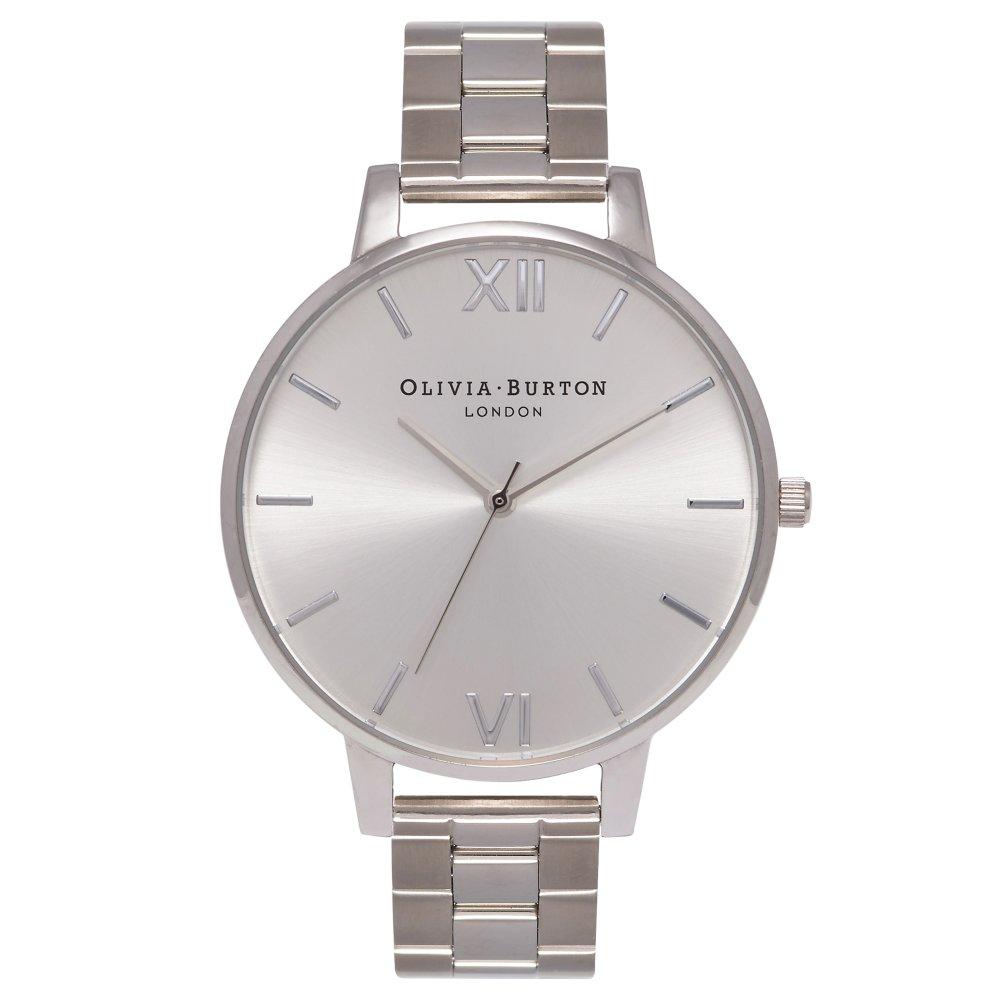 Olivia Burton Big Dial Silver Bracelet Watch | OB15BL22