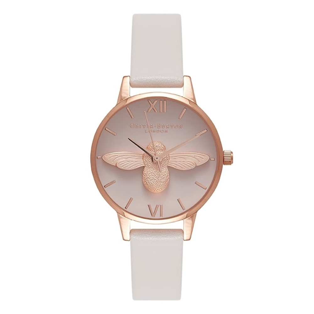 Olivia Burton Animal Motif Blush & Rose Gold Watch
