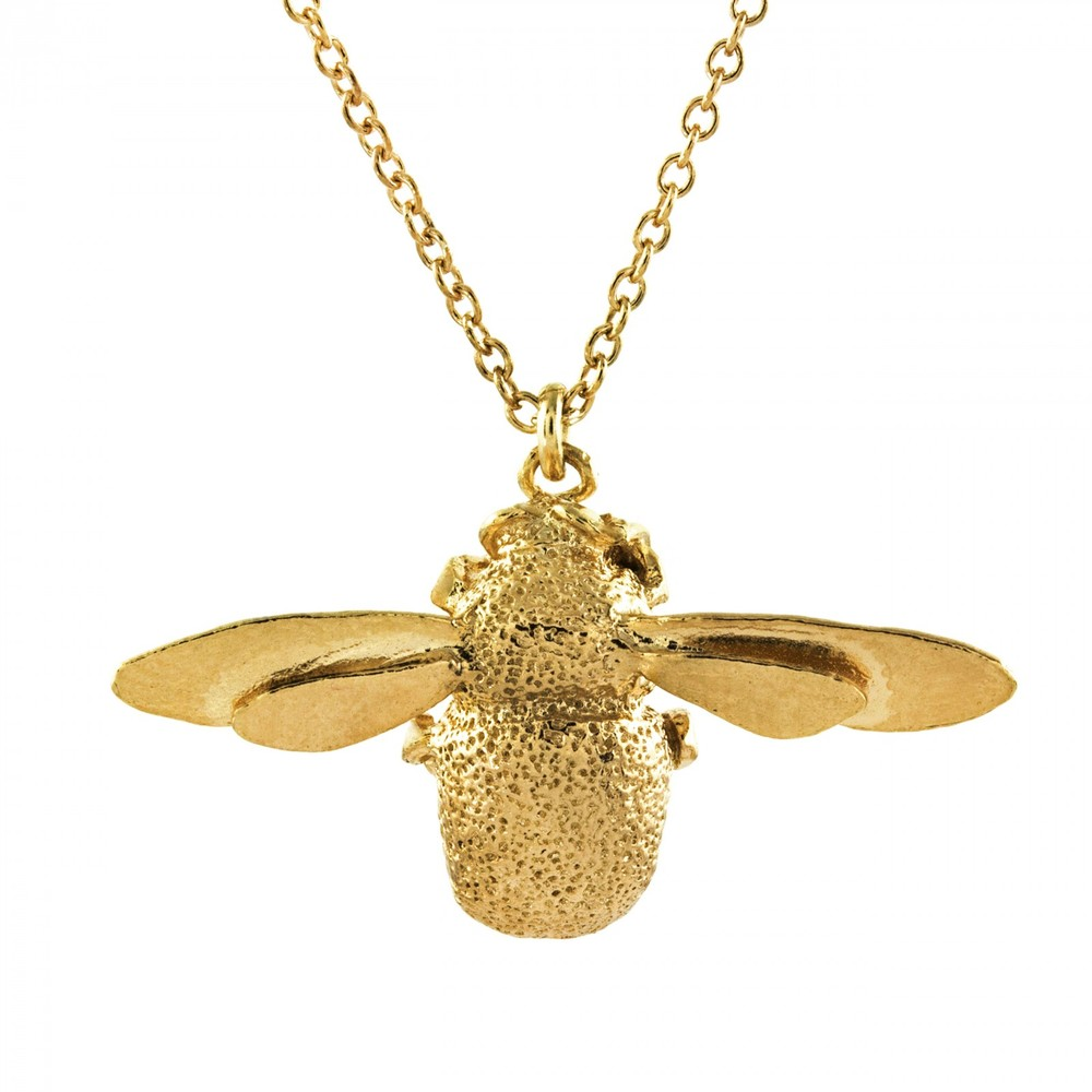 Alex Monroe Bumblebee Gold Necklace | OSN1/GP