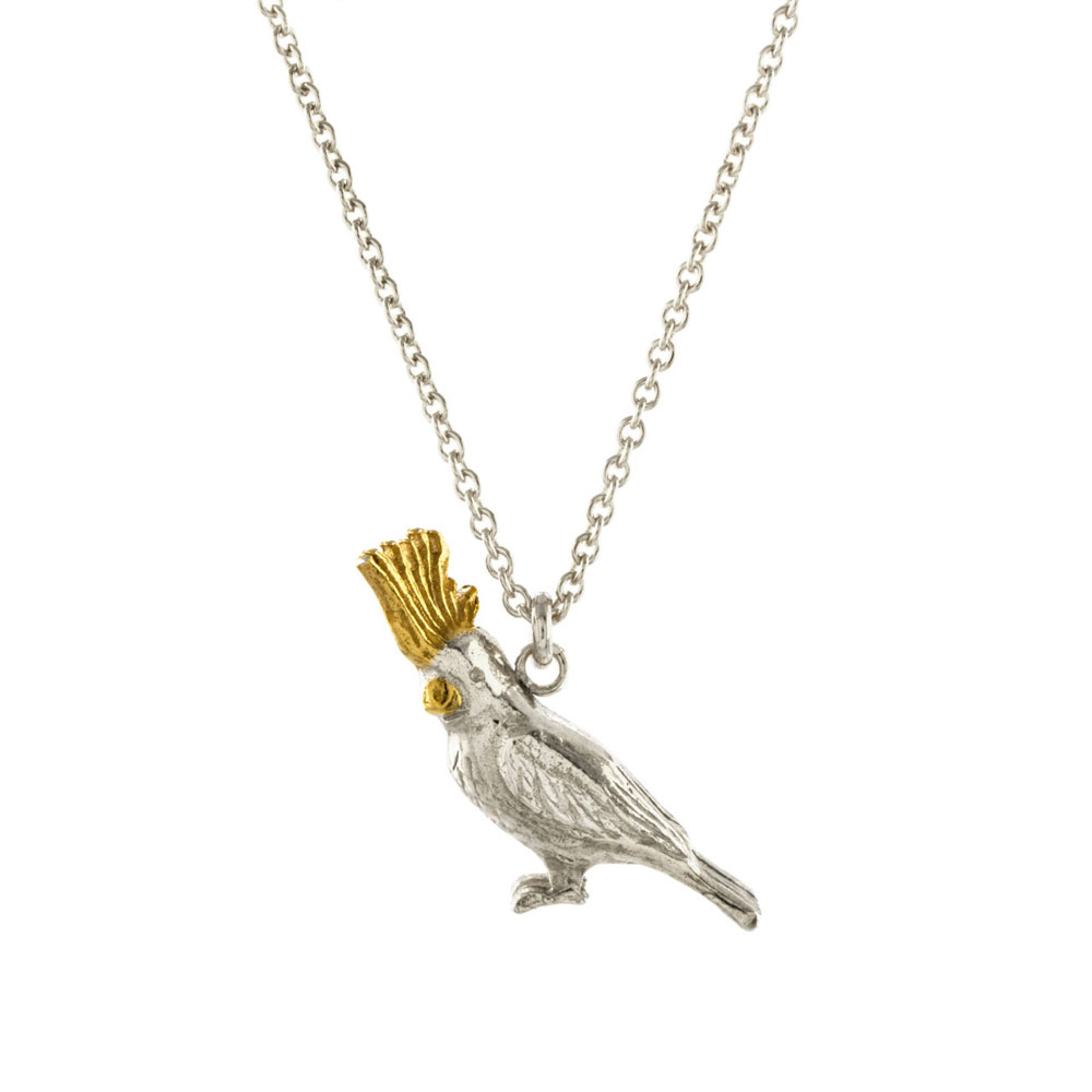 Alex Monroe Cockatoo Necklace | PHN4/MIX