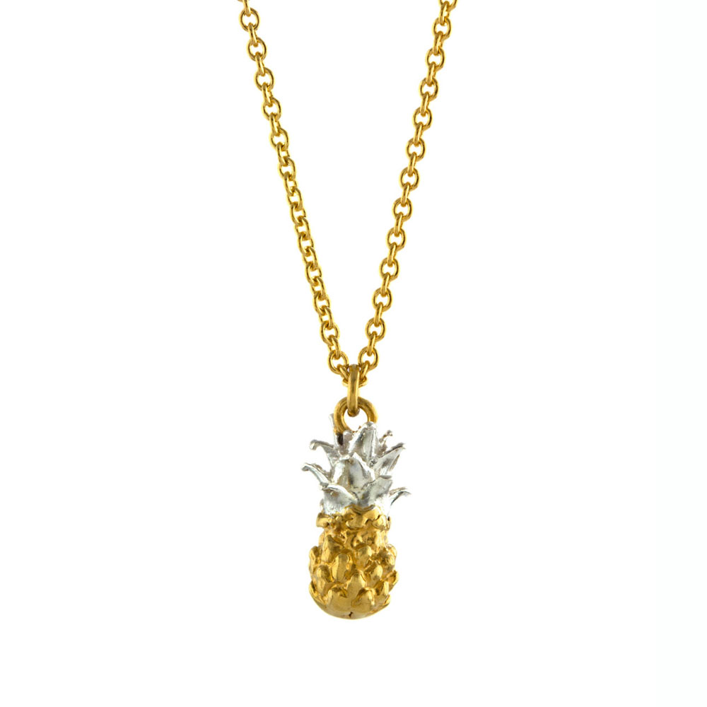 Alex Monroe Baby Pineapple Necklace | PHN6/MIX
