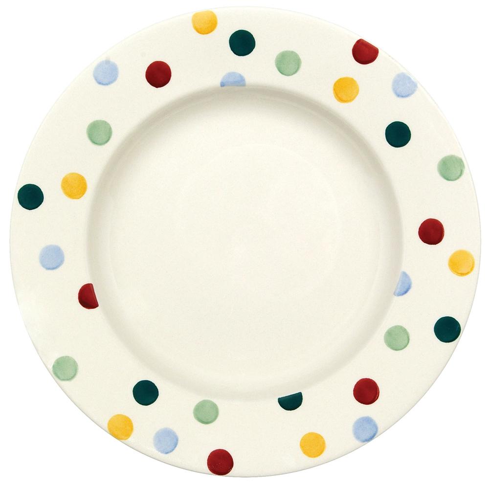 Emma Bridgewater Polka Dot 10 1 2 Dinner Plate 1pod010064  sc 1 st  Fold Down Tv Ceiling Mount & Emma Bridgewater Polka Dot Plates - Home Safe