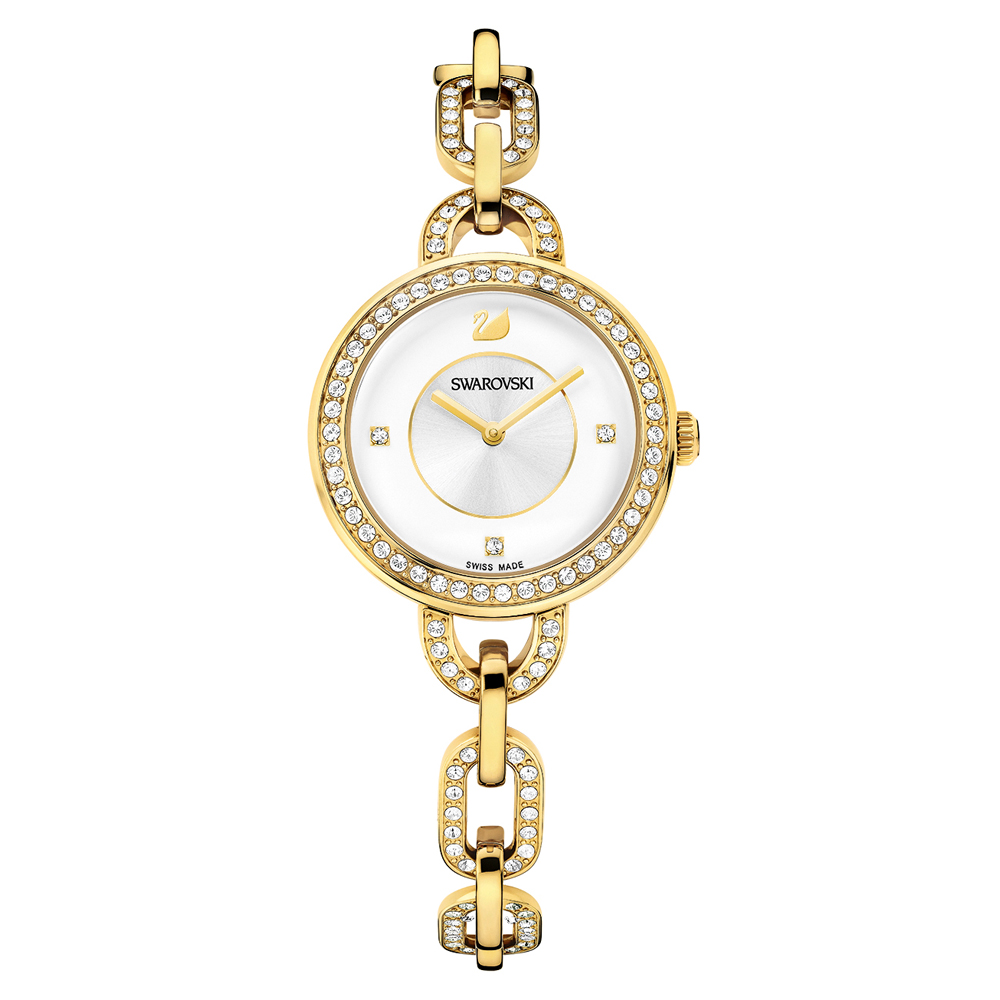 Swarovski Aila Gold Watch | 1124151