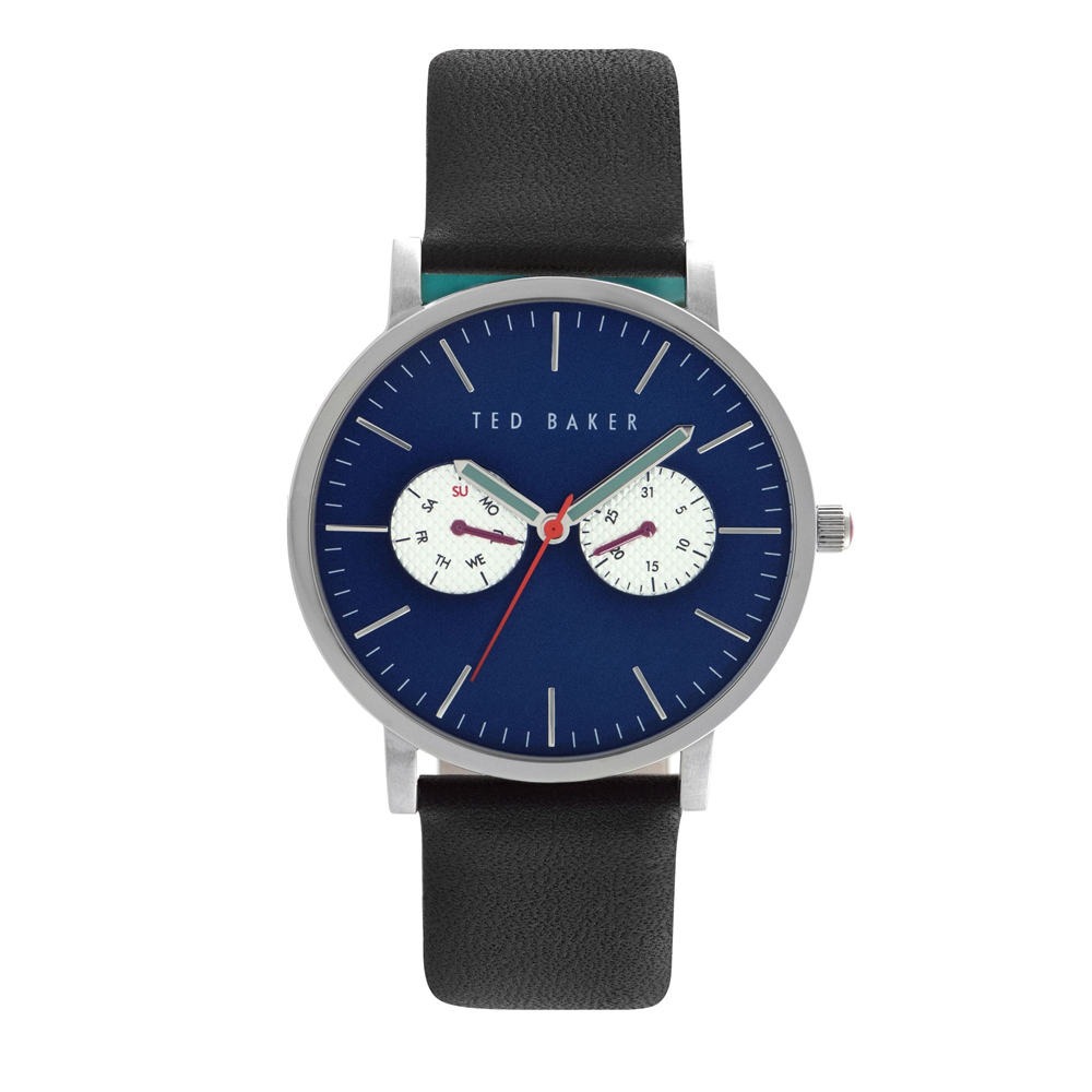 Ted Baker Men's Black Leather Strap Watch | TE10024785