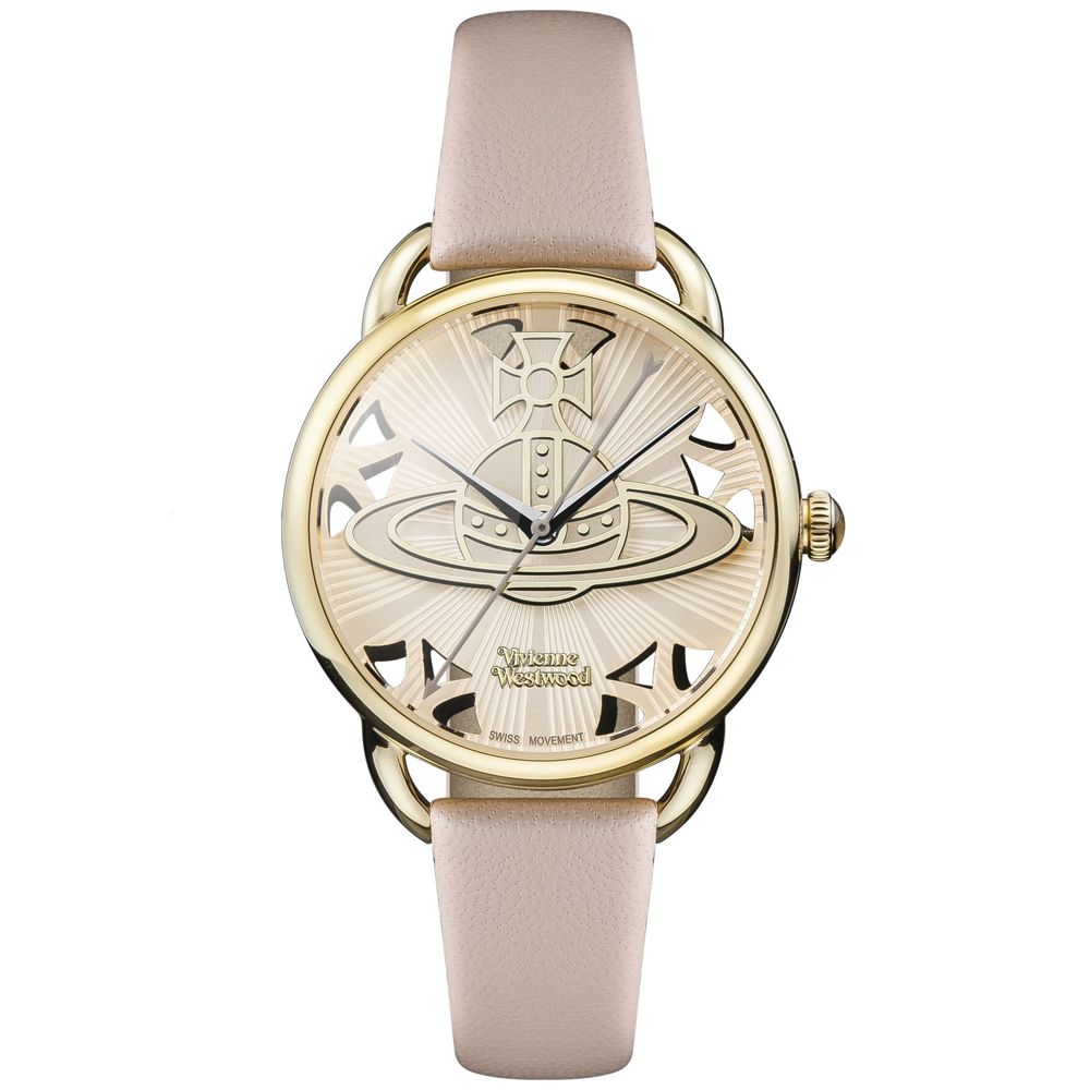 Vivienne Westwood Ladies' Pink Leadenhall Watch | VV163BGPK