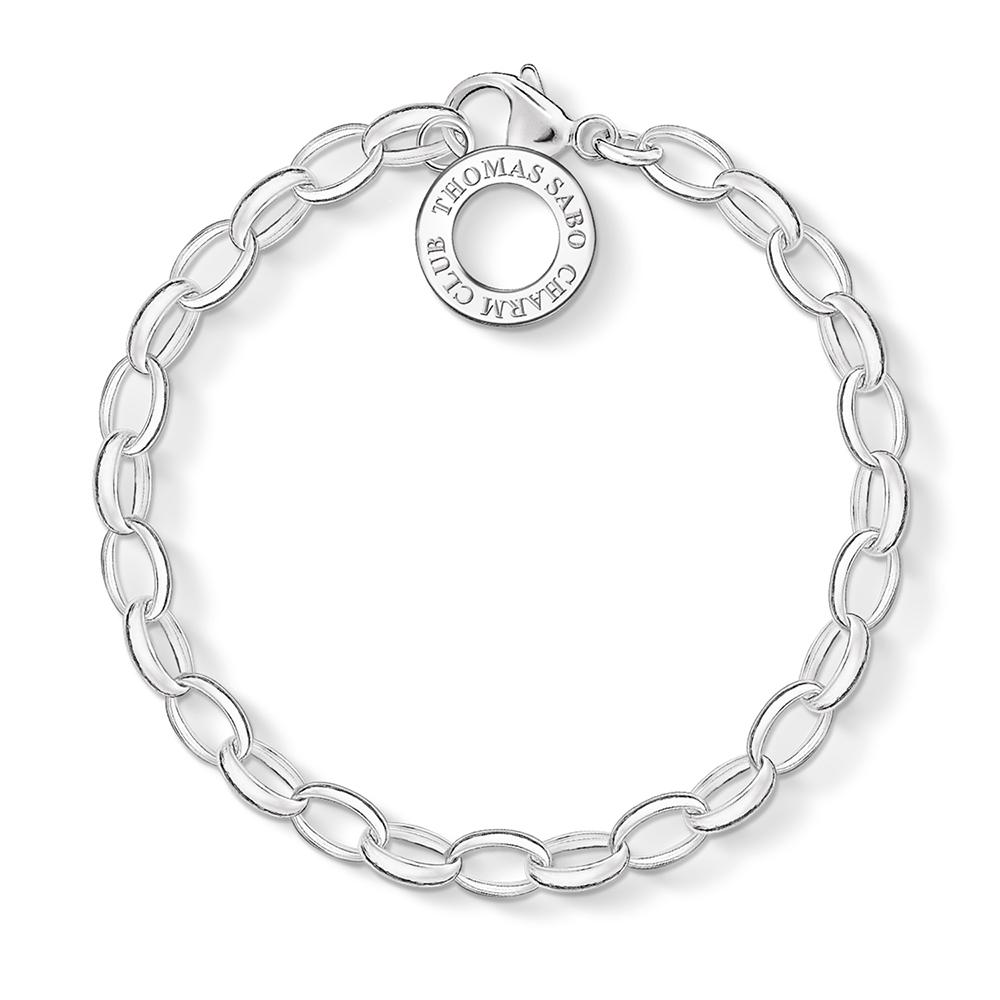 Thomas Sabo Charm Club Silver Charm Bracelet Medium | X003200112M