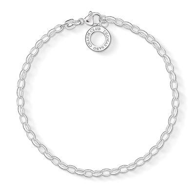 Thomas Sabo Charm Club Silver 0.3cm Charm Bracelet Medium | X016300112M