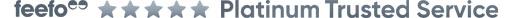 Feefo Platinum Banner