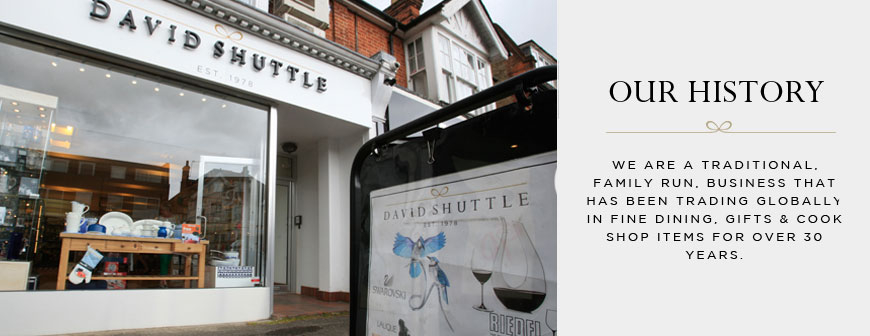 David Shuttle - Our History