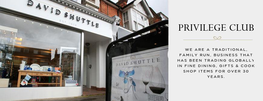 David Shuttle - Privilege Club